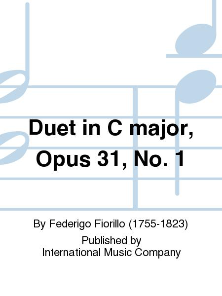 Duet in C major, Opus 31, No. 1