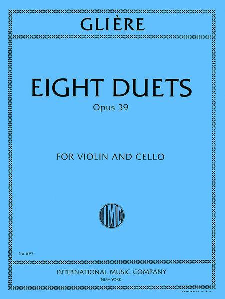 Eight Duets, Opus 39