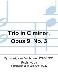 Trio in C minor, Opus 9, No. 3
