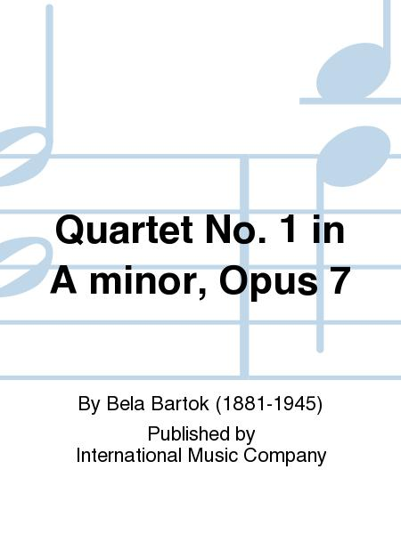 Quartet No. 1 in A minor, Opus 7