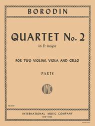 Quartet No. 2 in D major