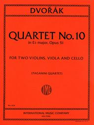 Quartet No. 10 in E flat major, Opus 51