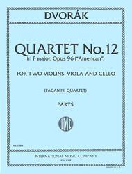 Quartet No. 12 in F major, Opus 96 ('American')