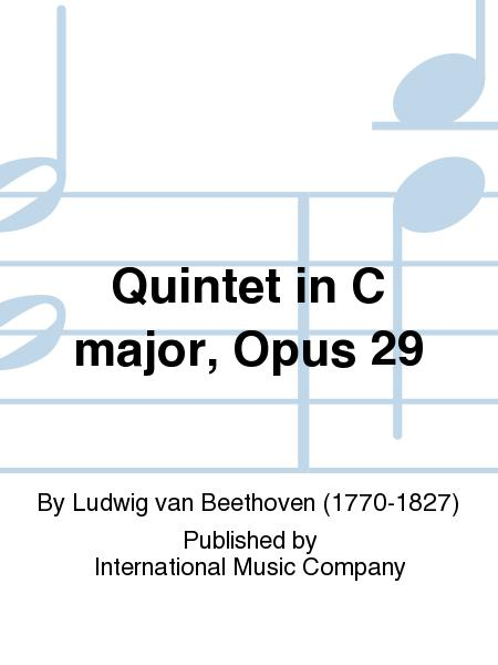 Quintet in C major, Opus 29
