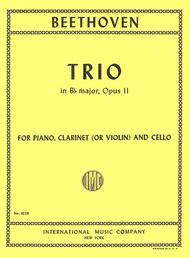 Trio in B flat major, Op. 11
