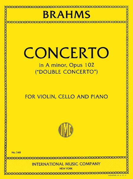 Double Concerto in A minor, Op. 102