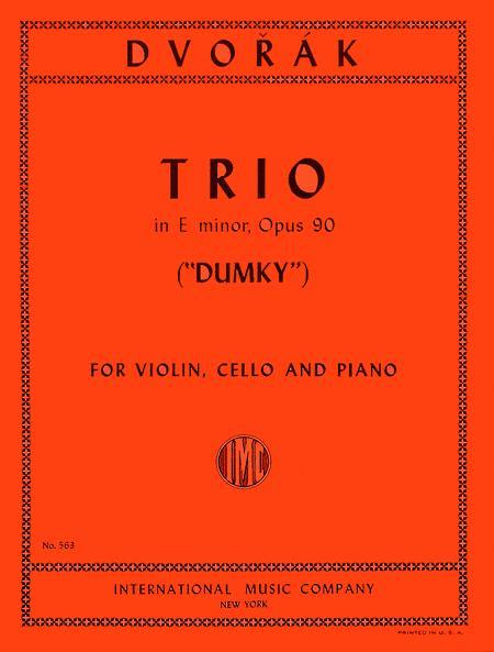 Trio in E minor, Opus 90 - 'Dumky'