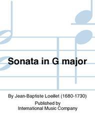 Sonata in G major