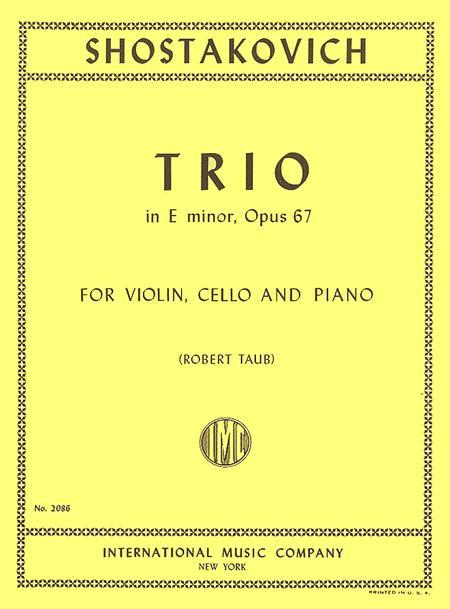 Trio in E minor, Opus 67