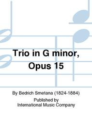 Trio in G minor, Opus 15