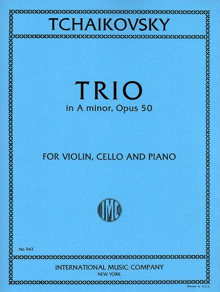 Trio in A minor, Opus 50