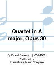 Quartet in A major, Opus 30