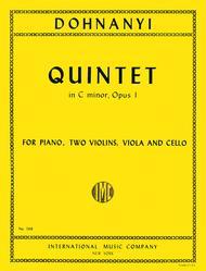 Quintet in C minor, Opus 1