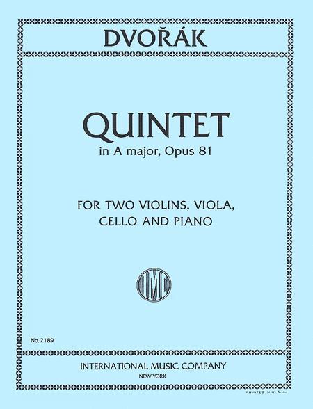 Quintet in A major, Opus 81