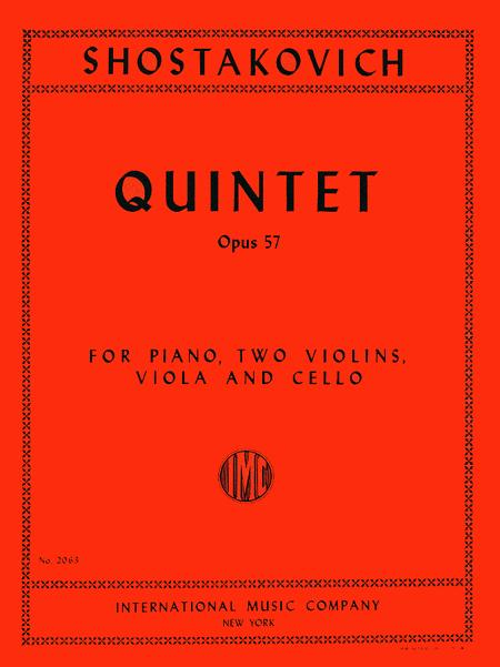 Quintet in G minor, Op. 57