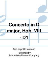 Concerto in D major, Hob. VIIf - D1