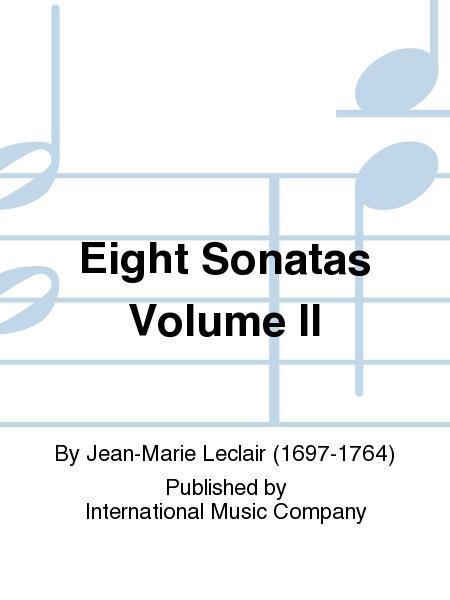 Eight Sonatas Volume II
