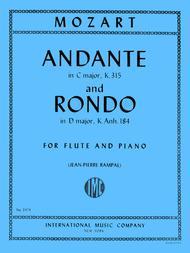 Andante in C major, K. 315 & Rondo in D major K. Anh. 184