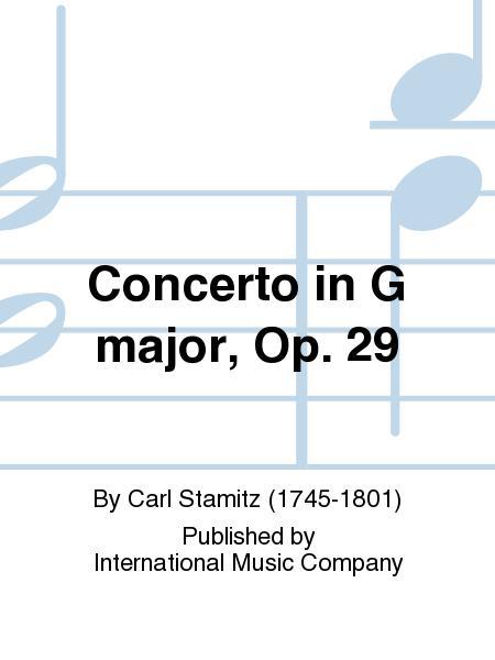 Concerto in G major, Op. 29