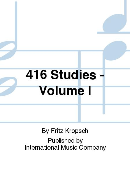 416 Studies - Volume I