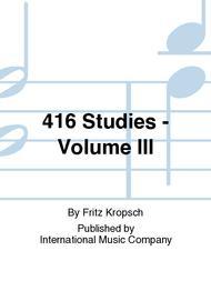 416 Studies - Volume III