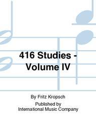 416 Studies - Volume IV