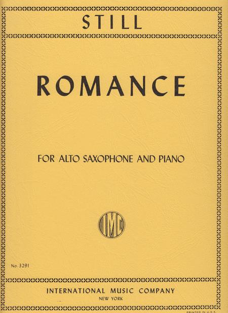 Romance Sheet Music By William Grant Still - Sheet Music Plus