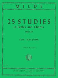 25 Studies in Scales and Chords, Op. 24