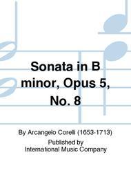 Sonata in B minor, Opus 5, No. 8