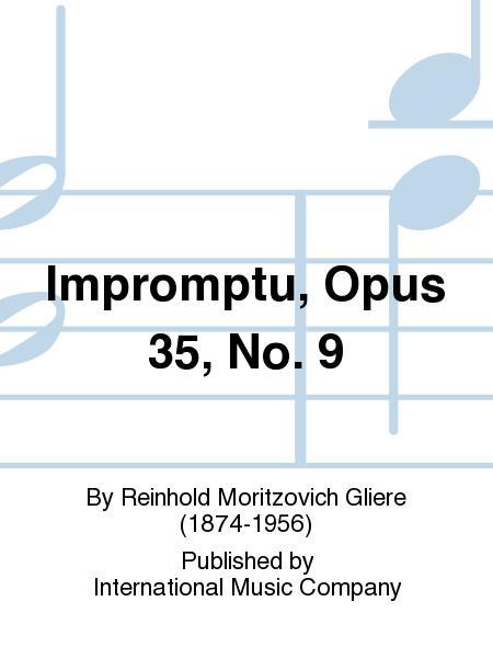 Impromptu, Opus 35, No. 9