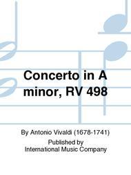 Concerto in A minor, RV 498