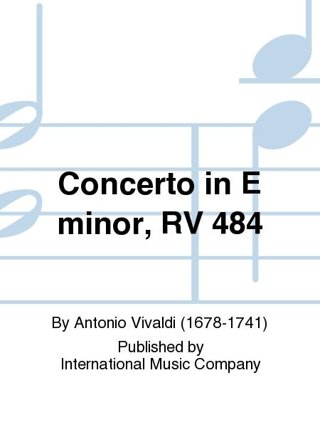 Concerto in E minor, RV 484
