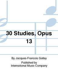 30 Studies, Opus 13