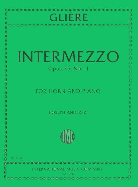 Intermezzo, Op. 35 No. 11