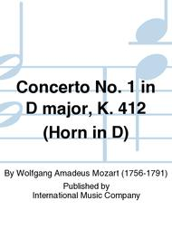 Concerto No. 1 in D major, K. 412 (Horn in D)