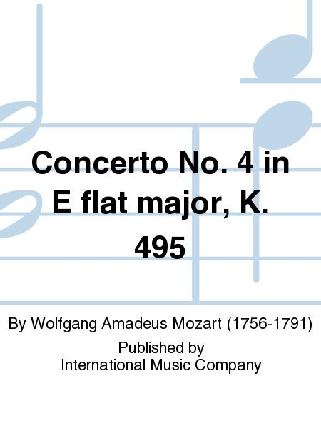 Concerto No. 4 in E flat major, K. 495