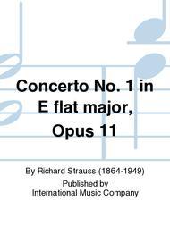Concerto No. 1 in E-flat Major, Opus 11