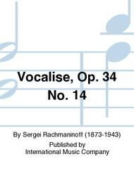 Vocalise, Op. 34 No. 14