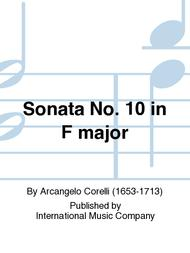 Sonata No. 10 in F major