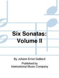 Six Sonatas: Volume II