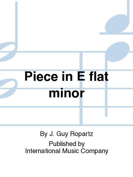 Piece in E flat minor