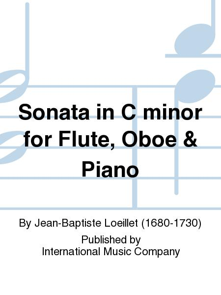 Sonata in C minor for Flute, Oboe & Piano