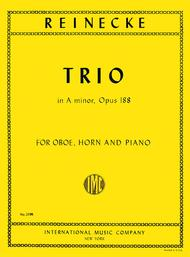 Trio in A minor, Op. 188 for Oboe, Horn & Piano