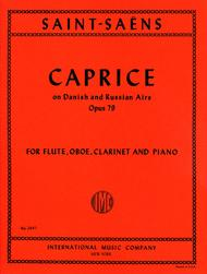 Caprice on Danish & Russian Airs, Opus 79 for Flute, Oboe, Clarinet & Piano