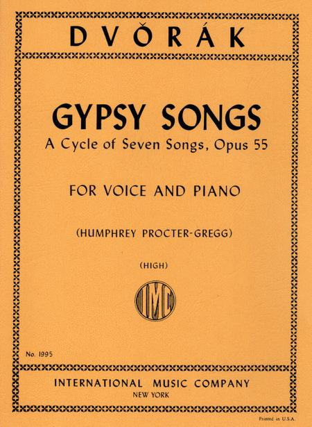 Gypsy Songs. A Cycle of 7 Songs, Opus 55 - High