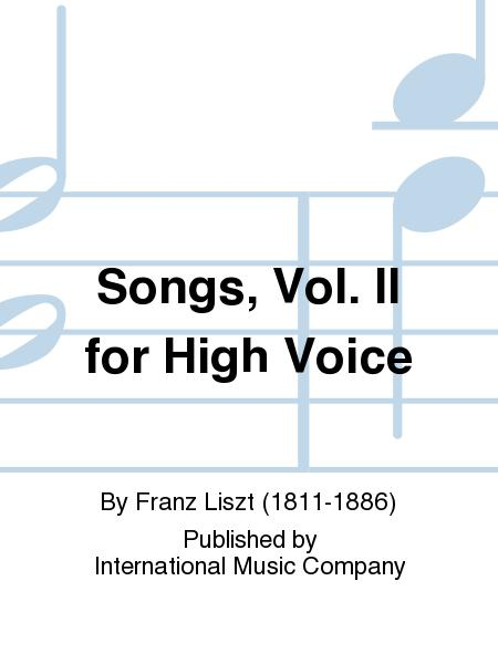 Songs, Vol. II for High Voice