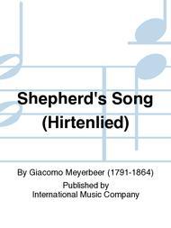 Shepherd's Song (Hirtenlied)