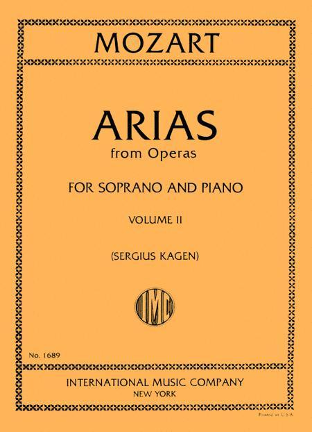 Arias from Operas - Volume II (Soprano)