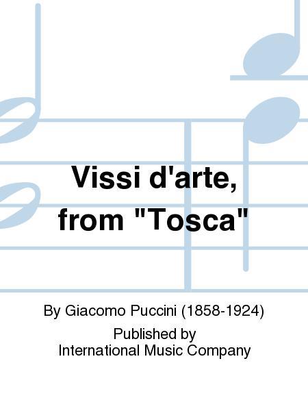 Vissi d'arte, from Tosca (I. & E.) (S.)