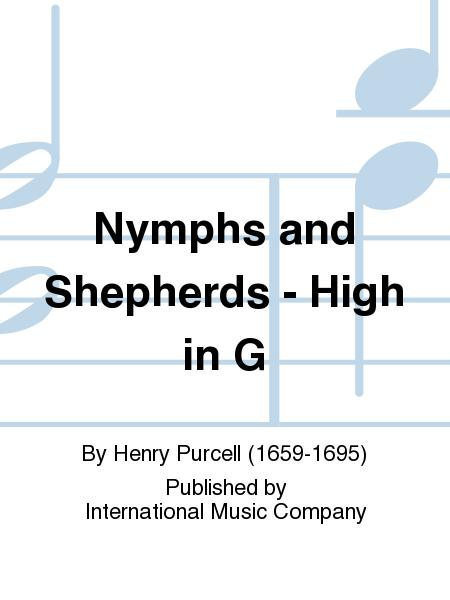 Nymphs and Shepherds - High in G